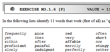 Fragment from lseg qualifying adjectives of german origin working